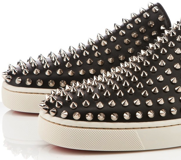 c26b86b67403 Christian Louboutin Spring Summer 2012 Roller-Boat Spikes Flat Sneakers